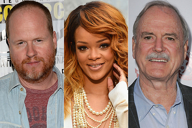 Joss Whedon Rihanna John Cleese