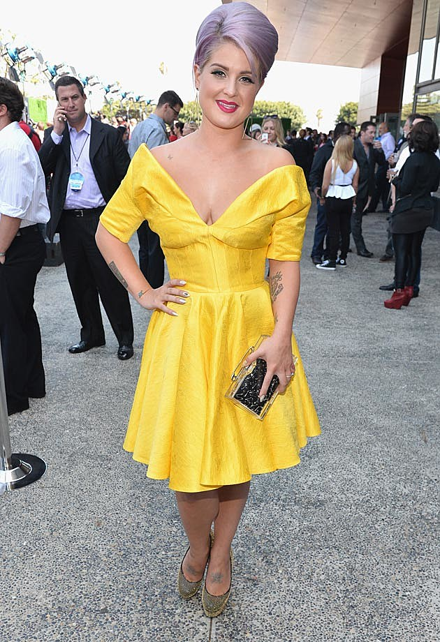Kelly Osbourne Yellow Young Hollywood