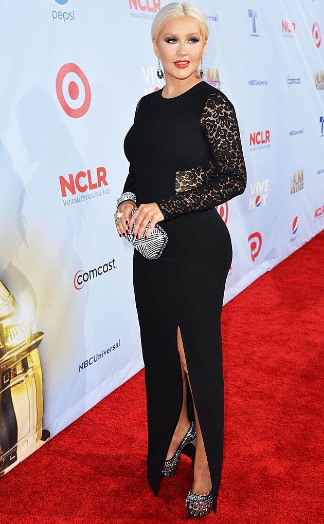 Christina Aguilera ALMAs Michael Kors