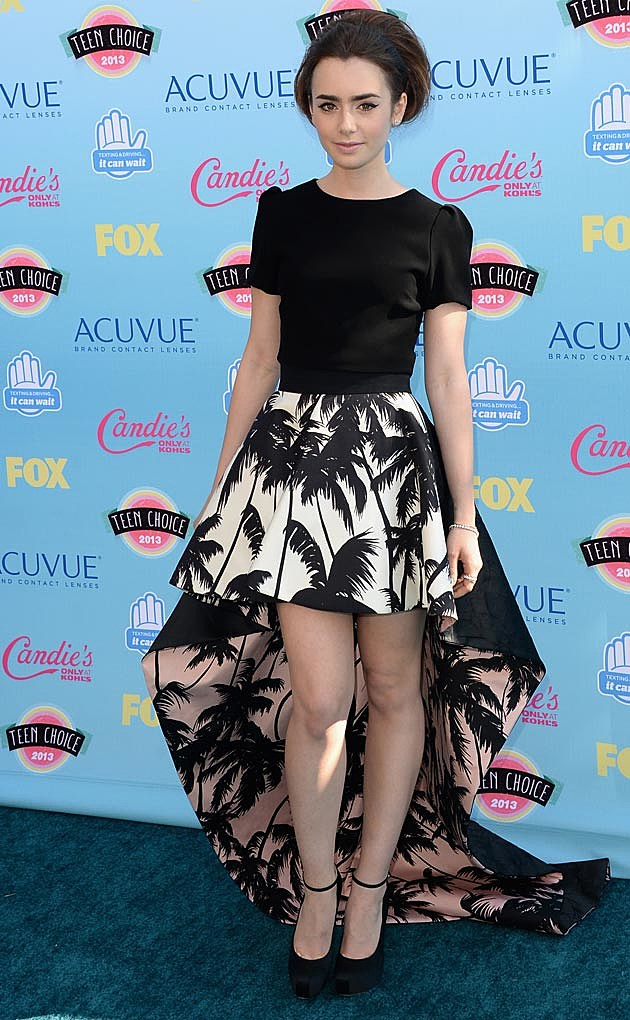 Lily Collins 2013 Teen Choice Awards
