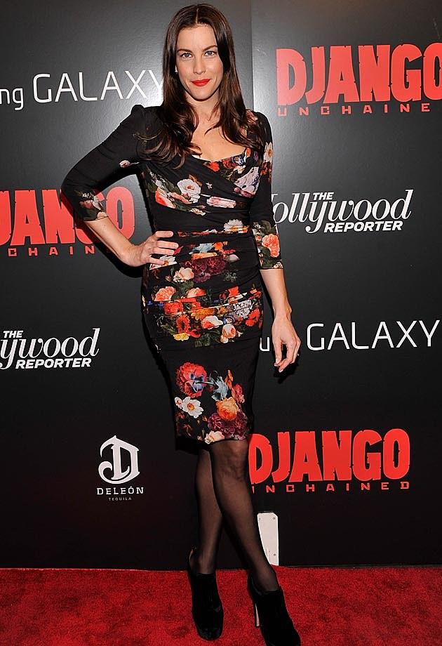 Liv Tyler Dolce + Gabbana