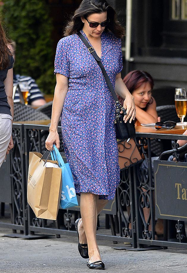 Liv Tyler Blue Dress