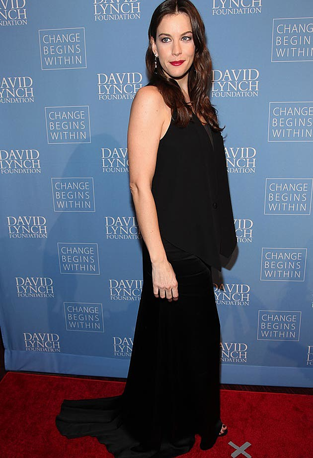 Liv Tyler Black Dress