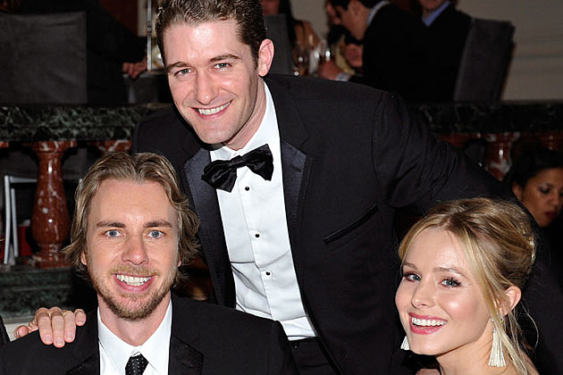 Matthew Morrison Kristen Bell Dax Shepard