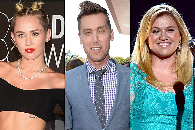 Miley Cyrus Lance Bass Kelly Clarkson
