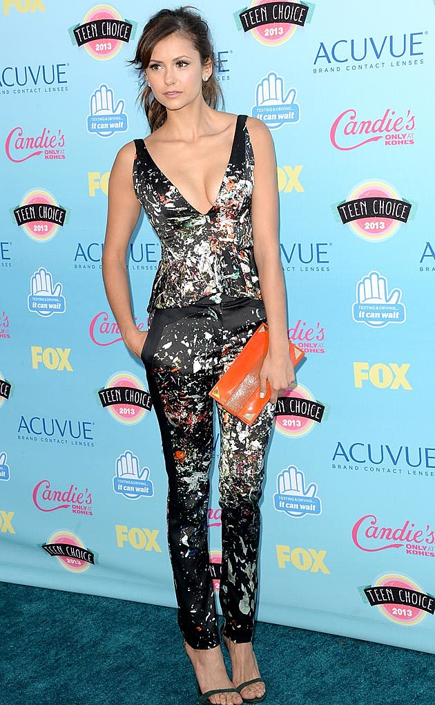 Nina Dobrev 2013 Teen Choice Awards