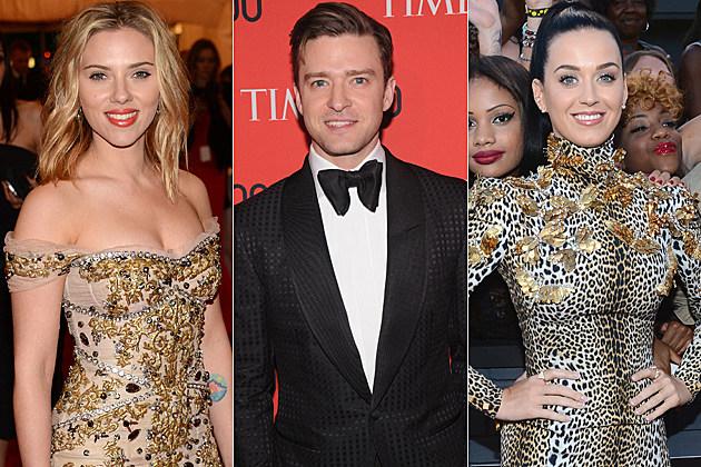 Scarlett Johansson Justin Timberlake Katy Perry