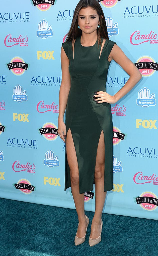 Selena Gomez 2013 Teen Choice Awards Cushnie et Ochs