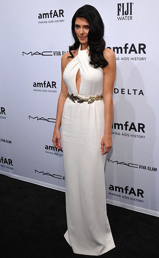 Ashley Greene White Giambatista Valli