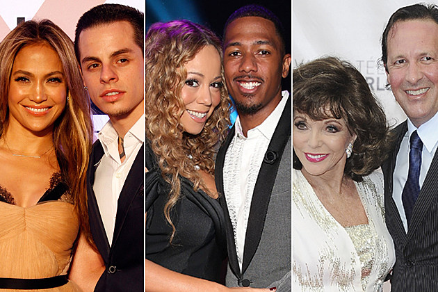 Jennifer Lopez Casper Smart Mariah Carey Nick Cannon Joan Collins Percy Gibson