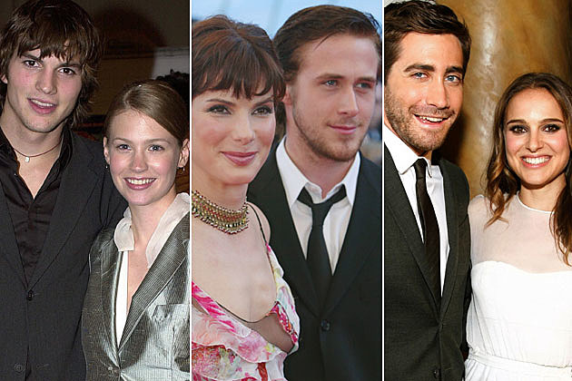 Ashton Kutcher January Jones Sandra Bullock Ryan Gosling Jake Gyllenhaal Natalie Portman