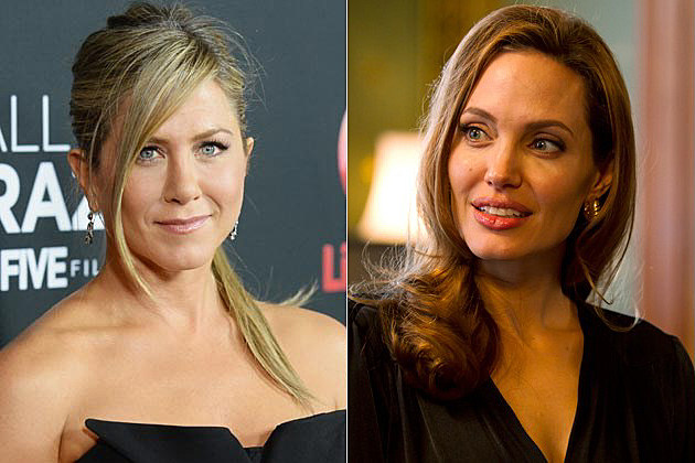Jennifer Aniston Angelina Jolie