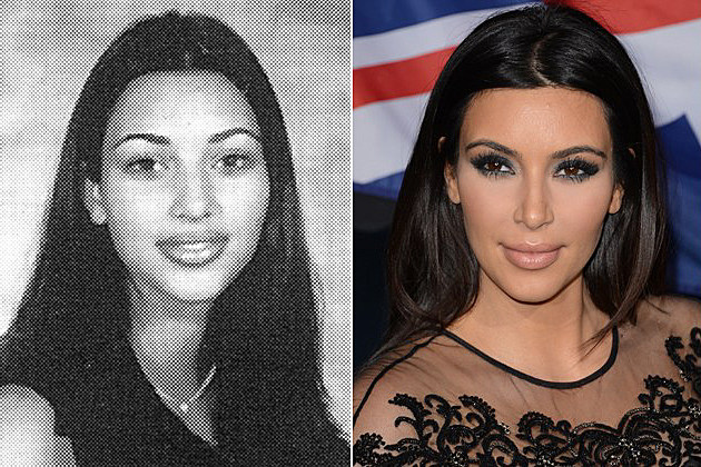 Kim Kardashian yearbook