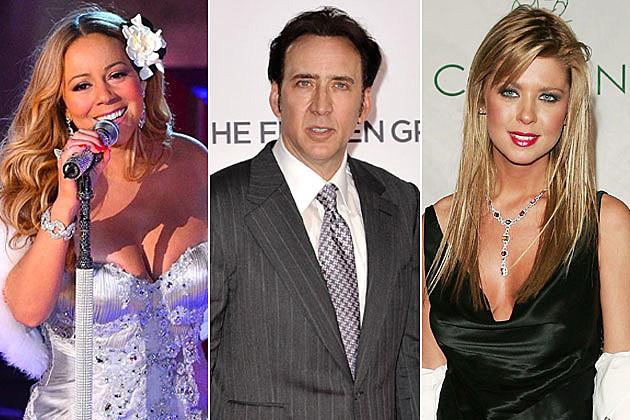 Mariah Carey Nicolas Cage Tara Reid