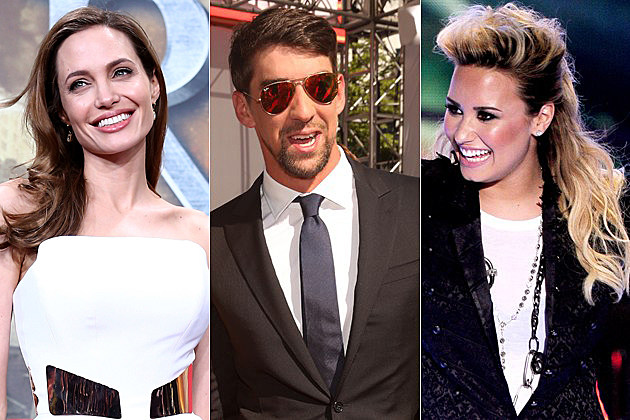 10 Celebrities Who Have Battled Mental Illness Angelina Jolie Michael Phelps Demi Lovato