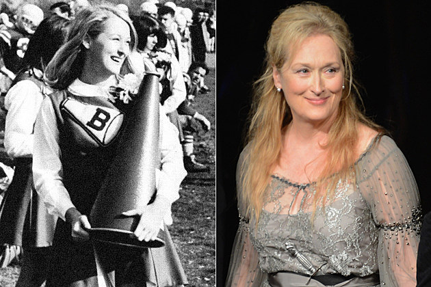 Meryl Streep cheerleader