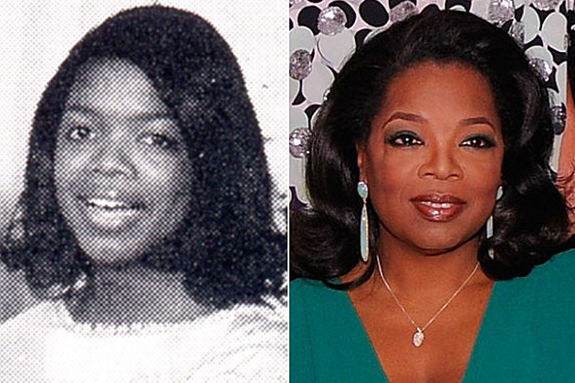 Oprah Winfrey yearbook