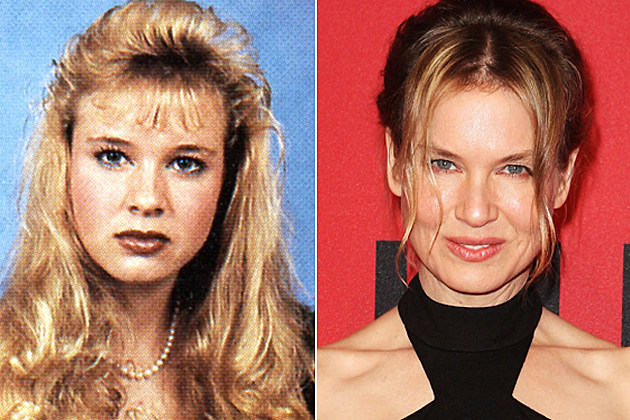 Renee Zellweger yearbook