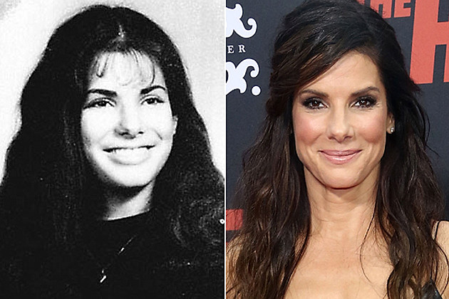 Sandra Bullock yearbook