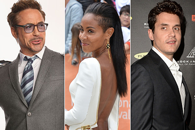 Robert Downey Jr. Jada Pinkett Smith John Mayer