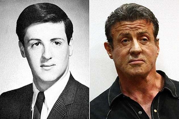 Sylvester Stallone yearbook