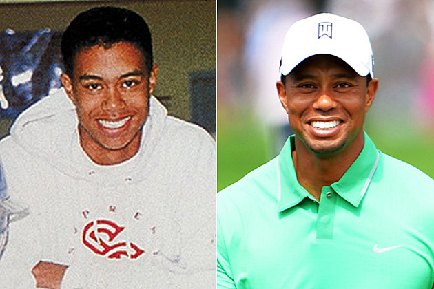 Tiger Woods yearbook