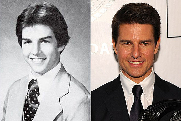 Tom Cruise yearbook