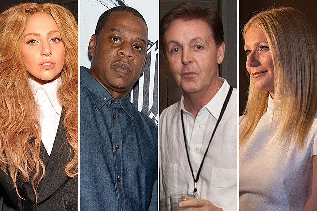 911-celebrities lady gaga jay-z paul mccartney gwyneth paltrow