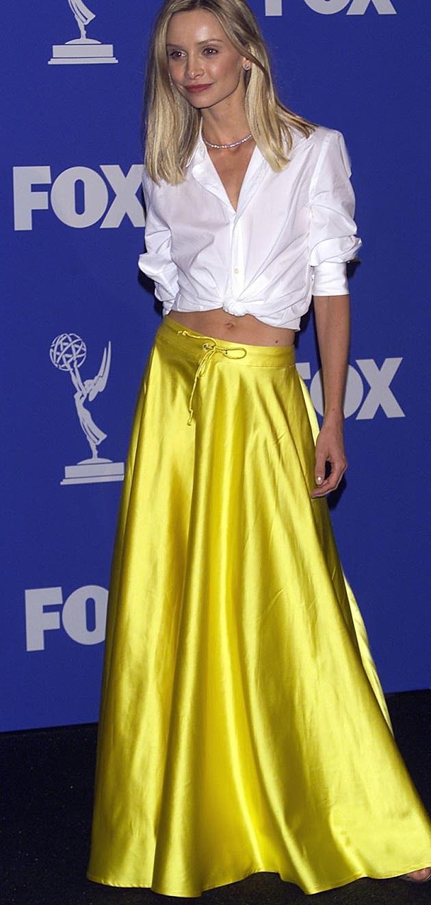 Calista Flockhart 1999 Emmys