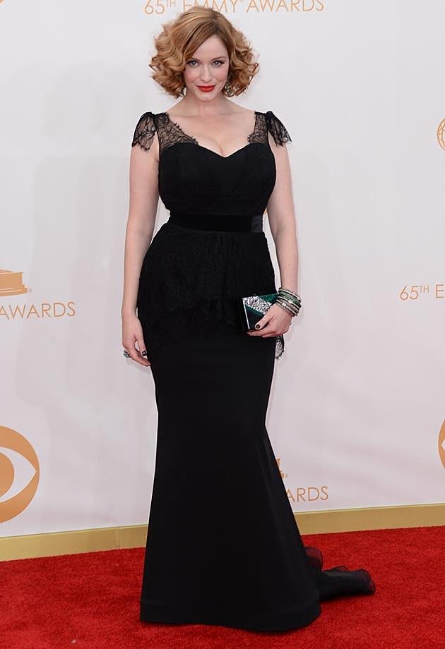 Christina Hendricks 2013 Emmys