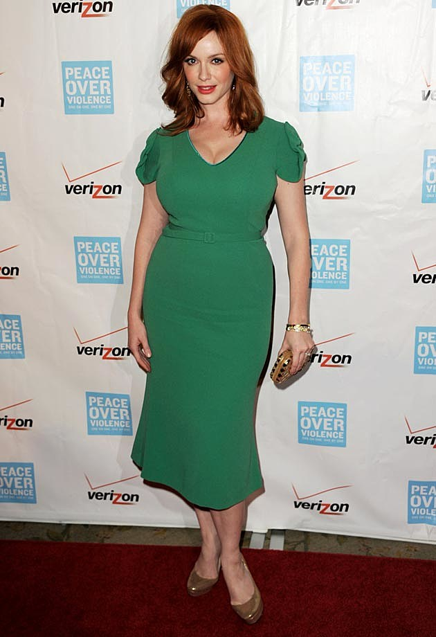 Christina Hendricks L'Wren Scott Dress