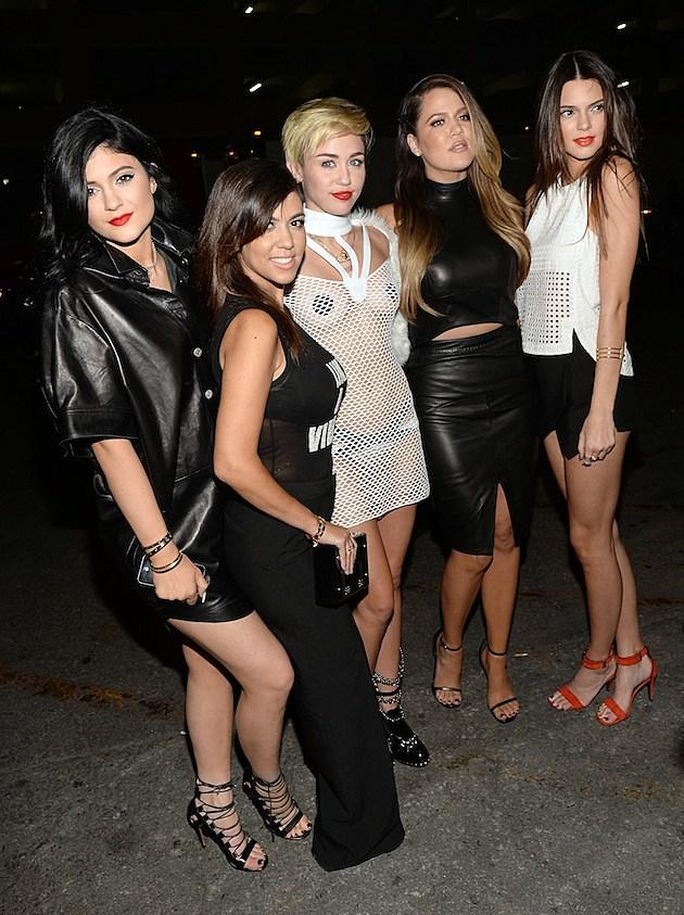 Kylie Jenner Kourtney Kardashian Miley Cyrus Kourtney Kardashian Kendall Jenner