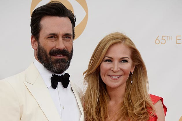 John Hamm Beard 2013 Emmys