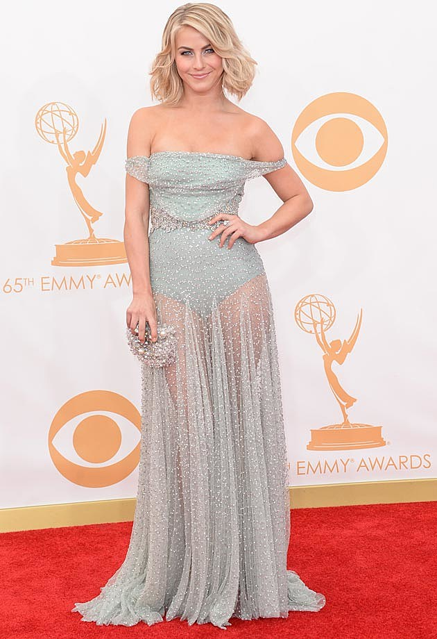 Julianne Hough Jenny Packham 2013 Emmys