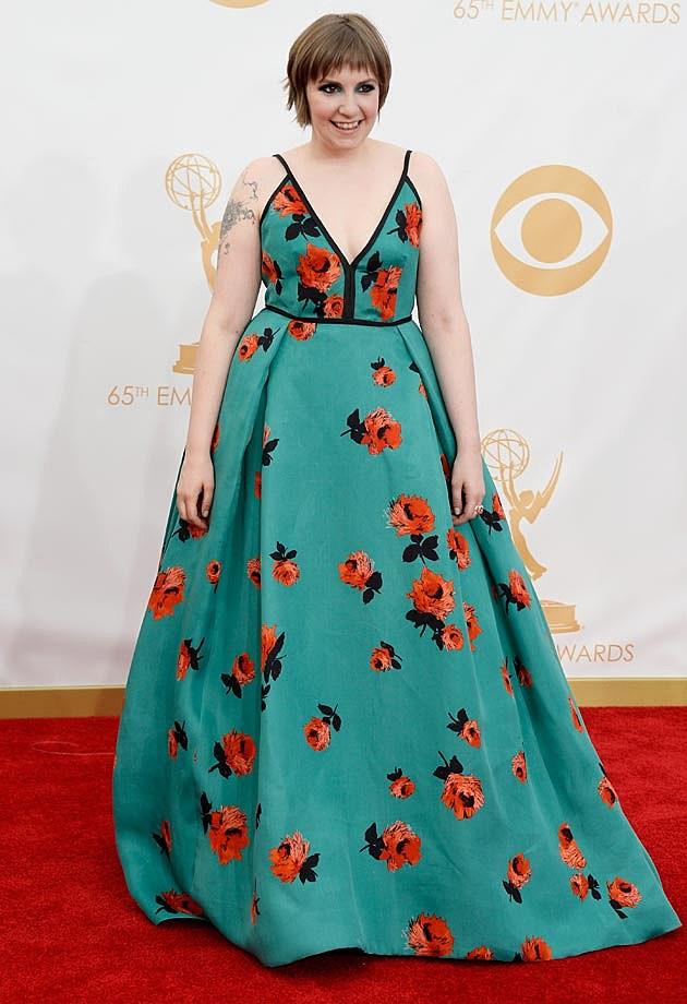 Lena Dunham 2013 Emmys
