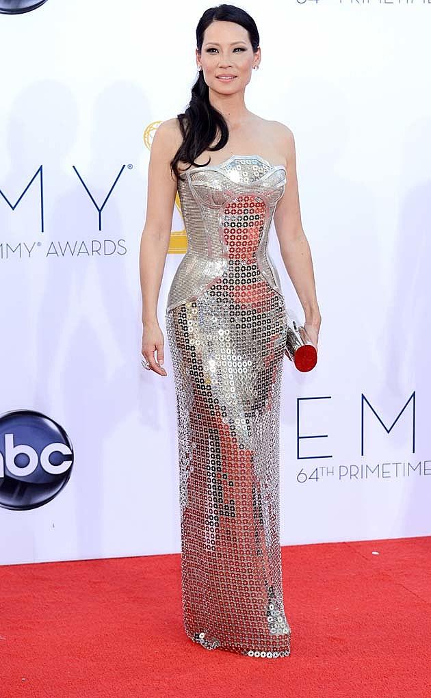 Lucy Liu 2012 Emmys