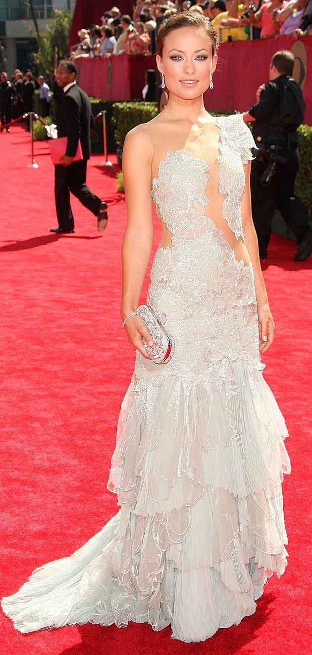 Olivia Wilde 2009 Emmys Marchesa