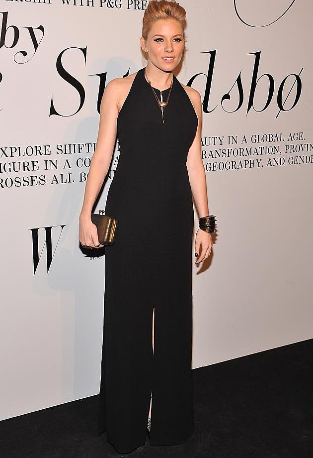 Sienna Miller Black