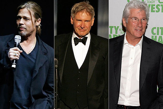 Brad Pitt Harrison Ford Richard Gere