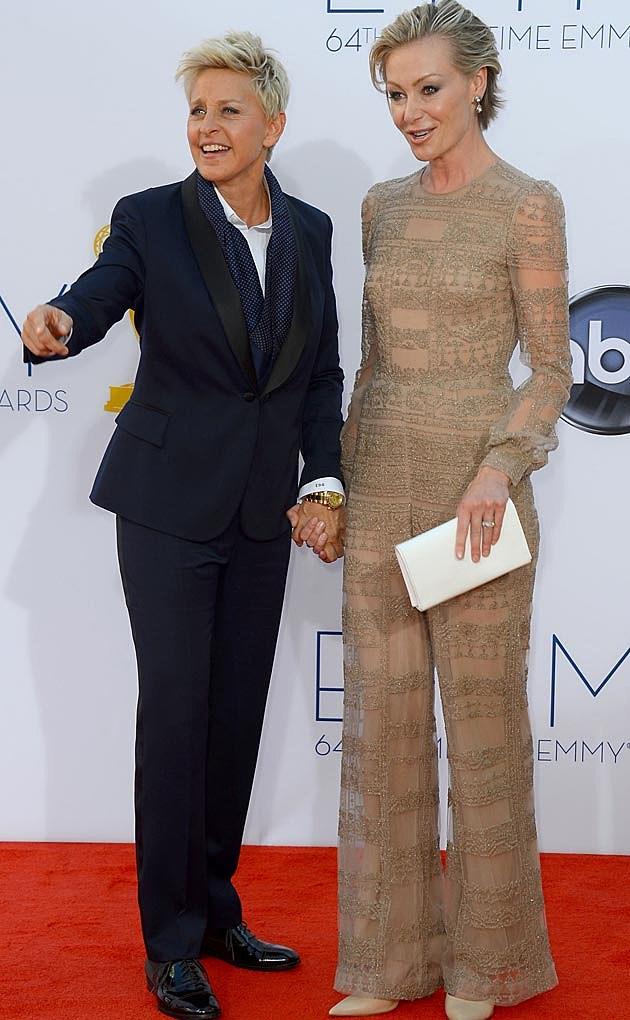 Portia De Rossi 2012 Emmys