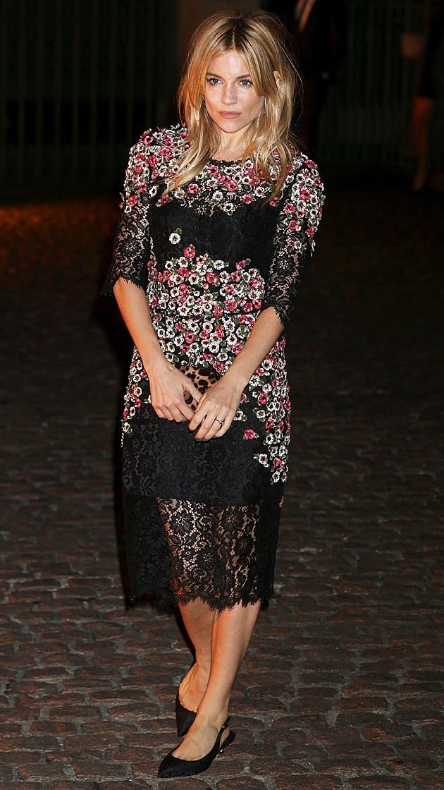 Sienna Miller Dolce + Gabbana